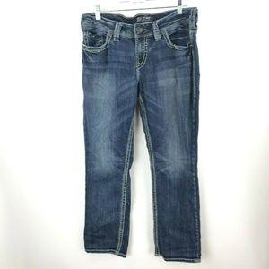 Silver Jeans Suki Straight Stretch Women's 14/32